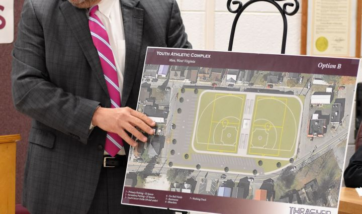 Athletic Complex To Replace Man Jr. High School Building